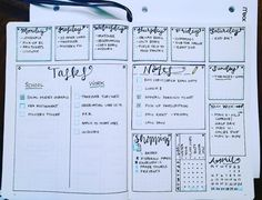 I swear I would be alright with just making a new weekly spread every day  not sure why I find them so much fun, but I just love em! This one is AMAZING, although I may or may not say that every week  courtesy of an anonymous Pinterest-er ❤️