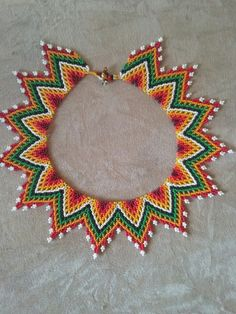 Beaded Bracelet Patterns, Beaded Earrings, Beaded Bracelets, Bead Jewellery, Embroidery, Beads, Holiday Decor, Crafts, Inspiration