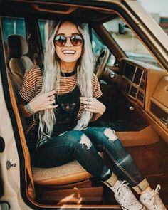 20 Edgy Fall Street Style 2018 Outfits To Copy - Street Style Outfits, Mode Outfits, Fashion Outfits, Fashion Trends, Womens Fashion, Look Fashion, Autumn Fashion, Hippie Style, My Style