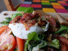 Burrata, una deliciosa ensalada de antojo