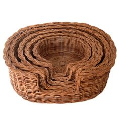 Classic Wicker Dog Basket in 5 Sizes - Kosmopolitan Baskets