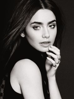 Lilly Collins - EYEBROWS