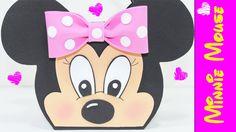 Artesanato EVA - Lembrancinha Minnie Mouse  - Como fazer - Segredos de A...