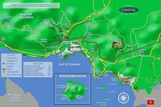 Kampot/Kep Map