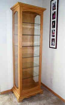 Free Patterns include Free woodworking plans and projects information for building display cabinet This is a link to a