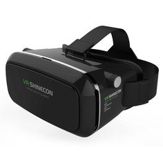 Cardboard VR SHINECON 3D Glasses Virtual Reality HD Optical Resin Lens VR Headset Anaglyph Glasses Magnetic Movies Video Gaming