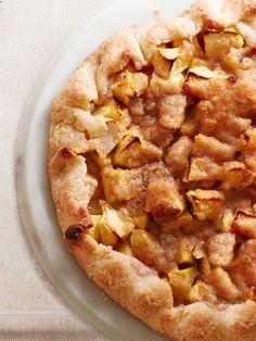 Get Ina Garten's recipe for Apple Crostata #Thanksgiving