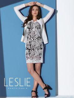 Robe imprimée Leslie Monte Carlo