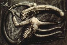 H. R. Giger  - As featured in Omni Magazine November 1979