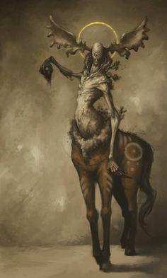 male woodland spirit in Slavic mythology