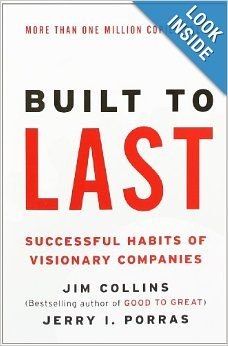 Collins conducted a 6-year research study to examine companies from their conception to their current position, using a comparison company in each case along the way. All had outperformed the stock market by a factor of fifteen, and were used as the bedrock of a thinkpiece about how companies could create and sustain enduring success. In massive detail, it chronicled the successful habits of visionary companies, and generated twelve shattered myths about companies and leadership.