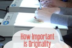 How Important is Originality in the Art Room?
