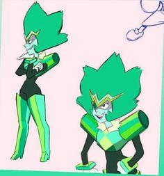 Steven Universe Emerald, Steven Universe Memes, Gem Fusions, Fanarts Anime, Art Courses, Universe Art, Rwby, Fan Art, Cool Stuff
