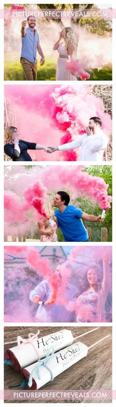 $3.95 Smoke Fountains with Bamboo Sticks #1 Gender Reveal Smoke Bomb