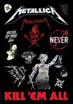 Metallica ~ Kill 'Em All