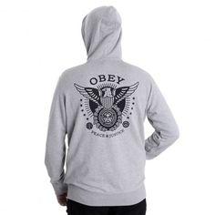OBEY Peace And Justice Hood sweat à capuche 75,00 € #skate #skateboard…
