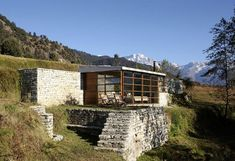 Shakti, eco-mountain hut in Himalaya