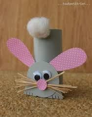 Tinker Easter bunnies made easy - 25 cute Easter bunnies .-Osterhasen basteln leicht gemacht – 25 süße Osterhasen Bastelideen Easter bunnies make out of toilet paper rolls - Bunny Crafts, Easter Crafts For Kids, Toddler Crafts, Preschool Crafts, Diy For Kids, Paper Easter Crafts, Crafts Toddlers, Crafts For Children, Rabbit Crafts