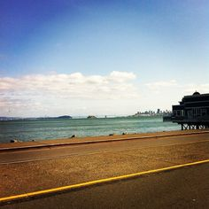 A view of San Francisco from Sausalito, only eight miles north of San Francisco.