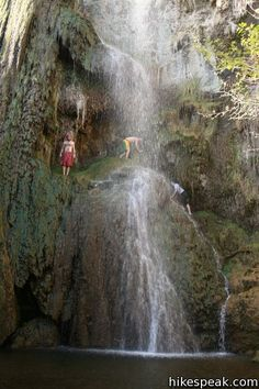 Escondido Falls  in the Santa Monica Mountains