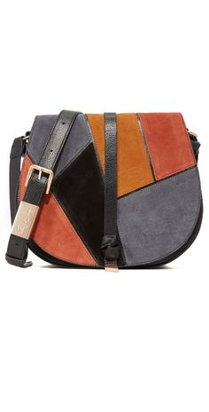 Foley + Corinna Daisy Patchwork Saddle Bag | SHOPBOP