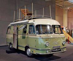 Mikafa camper van, powered by BMW Camper Caravan, Truck Camper, Camper Trailers, Camper Van, Vintage Rv, Vintage Caravans, Vintage Travel Trailers, Vintage Campers, Vintage Motorhome