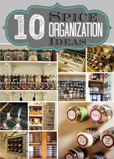 10 Spice Organization Ideas