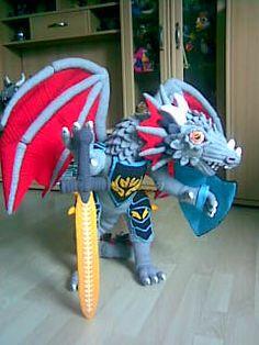 AMIGURUMI ARTIST: Dragon Trilogie - The FIGHTER OF ARMAGEDDON