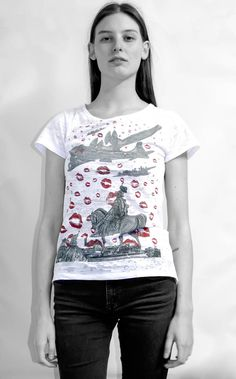 this is our new t-shirt love updfq only available on our website: www.updfq.it