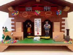 Vintage Weather House