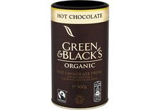 Green & Blacks Organic Hot Chocolate – made with raw cane sugar and cocoa powder, pressed from the same cocoa beans as their chocolate. #Indulge #Treat