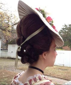 Two Nerdy History Girls: The Truth about the Big Hair of the 1770s: Part II: How They Did It