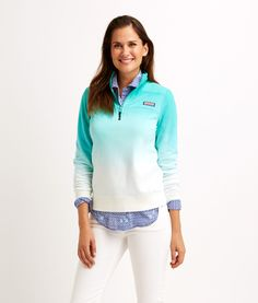 Shop Ombre Dyed Shep Shirt at vineyard vines