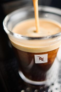 "Pretty sure this is a publicity photo for Starbucks' Keurig-killer ""Nespresso"". I found it interesting that it found its way into my Tumblr feed...whatever machinations the Starbucks corporation used worked."