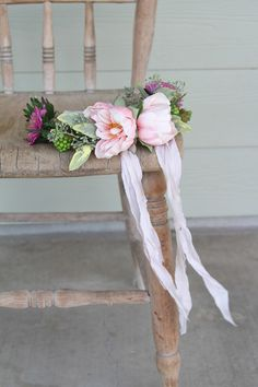 Delicate and whimsical floral crown by Southern Girl Weddings.  See more at SouthernGirlWeddings.com See more here: https://www.etsy.com/shop/southerngirlweddings