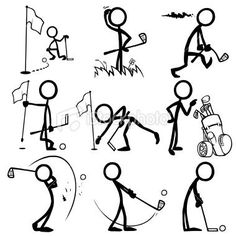 Image result for how to draw good stick people
