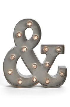 BESTTIME Letter Lights CAD 40.15  S&J <- for in the kitchen or bar or dining room?
