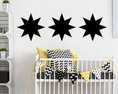 Zeitloses #Design für das #Kinderzimmer mit unseren #TinyFoxes #Strenen. #Tafelfolie #Dekoration