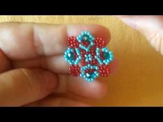 ▶ TURQUOISE EARRINGS TUTORIAL - YouTube (Italian)