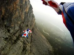 Wingsuit Flying Death | the author wingsuit proximity flying the eiger image by jump4heroes