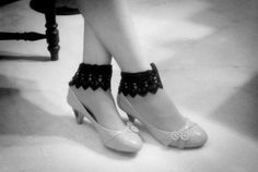 The Material Girls Diy Lace Socks, Slippers, Dance Shoes, Book, Projects, Fashion, Dancing Shoes, Moda, Sneakers