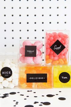 Candy Favor Boxes @p