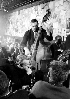 "portraitinjazz:  Mingus in New York c.1960s ""…he played and..."