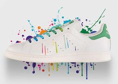 adidas Originals STAN SMITH PRIDE PACK [WHITE / WHITE / GREEN] (D70352)