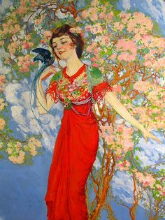 """Willy Pogany, """"The Queen of Summer"""""""