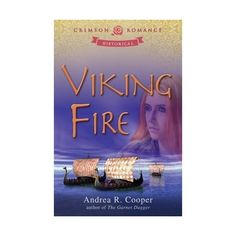 Viking Fire by Andrea R. Cooper Kaireen is forced into an arranged marriage with her enemy - a Viking. She refuses to submit. Bram must win her heart, but there is a traitor among her clan. Paranormal Romance, Romance Novels, Book Review Sites, Book Reviews, Bts Book, Character And Setting, Fantasy Romance, Historical Romance, Historical Fiction