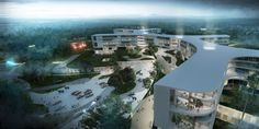 New North Zealand Hospital by C. F. MOLLER in Hillerød City, Denmark