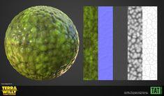 ArtStation - Terra Willy Materials, Youssef Lakssir Texture, Artwork, Surface Finish, Work Of Art, Patterns