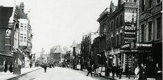 Hammersmith Road towards Olympia 1914
