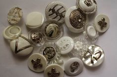 Sale on bags of buttons. Just look on myspottybox.ie Bag of buttons from Sale On, Napkin Rings, I Shop, Stud Earrings, Buttons, Bags, Shopping, Jewelry, Handbags